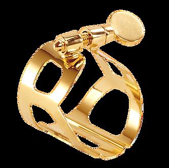 BG France Ligatuur Saxofoon Bariton Tradition Goudlak L60