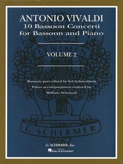 10 Bassoon Concerti Volume 2 - Antonio Vivaldi