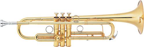 Bb Trompet Yamaha Lightweight Custom YTR-8340EM - Uitvoering: Goudlak