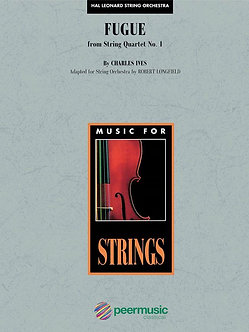 Fugue from String Quartet No. 1
