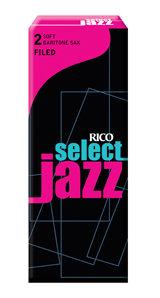 D'Addario Woodwinds Rieten Saxofoon Bariton SELECT JAZZ FILLED