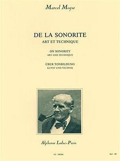 De la Sonorité - Art et Technique - Marcel Moyse