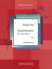 Inventions - Isang Yun