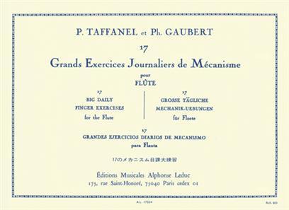 17 Grands Exercices Journaliers De Mecanisme - Paul Taffanel