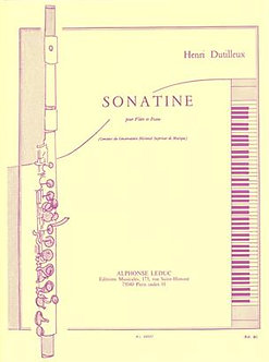 Sonatine - Henri Dutilleux