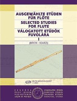 Ausgewählte Etüden für Flöte I - Vilmos Bàntai