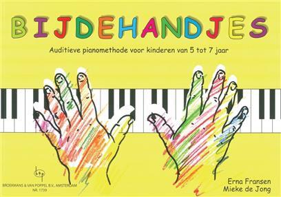 Bijdehandjes 1 (Auditieve Piano) - Erna Fransen_Mieke de Jong