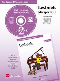 Hal Leonard Pianomethode Lesboek 2 (CD) - Phillip Keveren