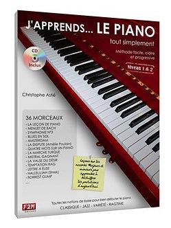 J'apprends le Piano... tout simplement Vol 1 - Christophe Astié