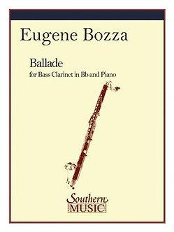 Ballade - Eugène Bozza