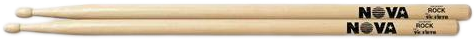 Nova Drumstokken Hickory Houten tip ROCK