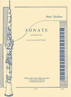 Sonate pour Hautbois et Piano - Henri Dutilleux