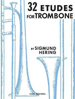 32 Etudes for Trombone - Sigmund Hering