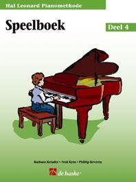 Hal Leonard Pianomethode Speelboek 4 - Phillip Keveren