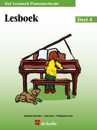 Hal Leonard Pianomethode Lesboek 4 - Phillip Keveren
