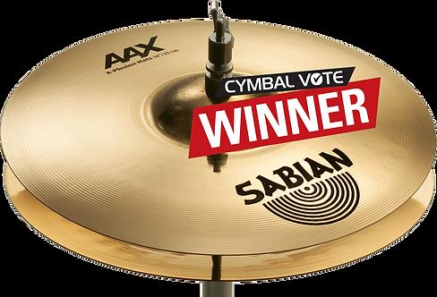 """Sabian Cymbaal AAX Hi-Hat 14"""" X-Plosion"""