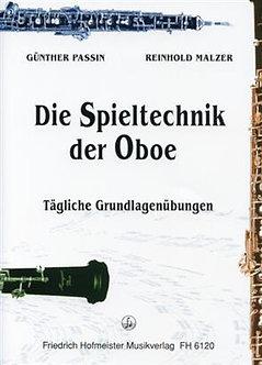 Die Spieltechnik der Oboe - Reinhold Malzer & Gunther Passin
