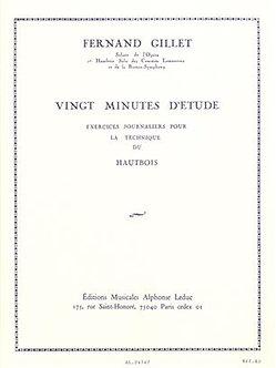 20 Minutes d'Etude - Ferdinand Gillet