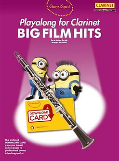 Guest Spot: Big Film Hits Playalong For Clarinet
