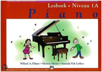 Alfred's Basic Piano Library Lesboek Niveau 1A