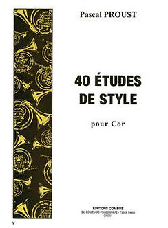 Etudes de style (40) - Pascal Proust