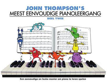 John Thompson's Meest Eenvoudige Pianoleergang 2 - John Thompson