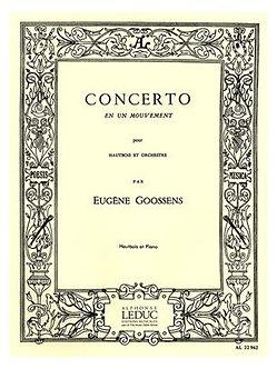Eugene Goossens: Concerto en 1 Mouvement Op.45 - Eugene Goossens