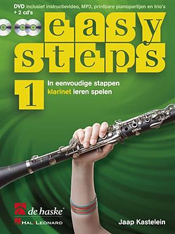 Easy Steps 1 klarinet - Jaap Kastelein & Klaas de Jong