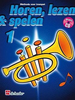 Horen Lezen & Spelen 1 trompet - Jaap Kastelein & Michiel Oldenkamp
