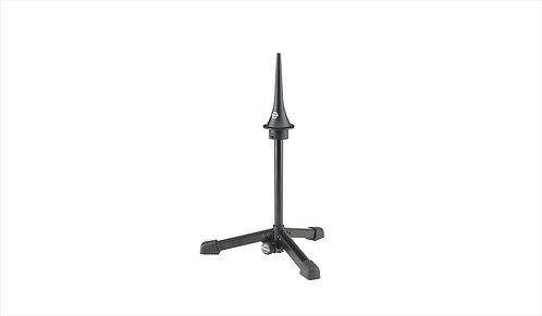 K&M 15227-000-55 Klarinetstand Inklapbaar Deluxe Zwart