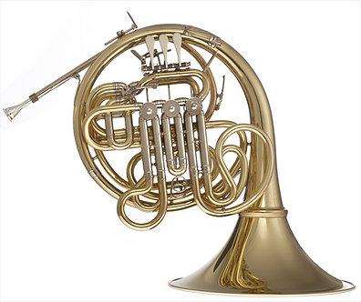 Hans Hoyer F/Bb Dubbel Hoorn K10A-L - Orchestra/Custom