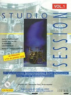 Studio Session Drums 1 - Bourbasquet-Gas