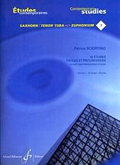 50 Etudes Faciles Et Progressives Vol.1 - Patrice Sciortino