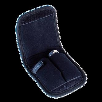 A220 ProTec Nylon Etui voor 2 Trompet Mondstukken - Zwart