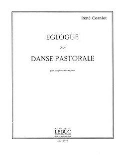 Eglogue Et Danse Pastorale - Corniot