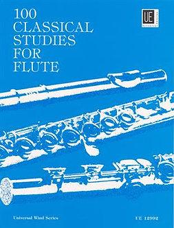 100 Classical Studies for Flute