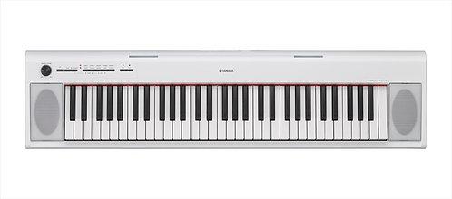 Yamaha NP12 Piaggero Keyboard - White