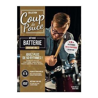 Coup De Pouce Debutant Batterie - Denis Roux
