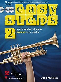 Easy Steps 2 trompet - Jaap Kastelein & Klaas de Jong