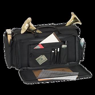 C248 ProTec Deluxe Gig Bag voor 3 Trompetten & Mutes - Zwart