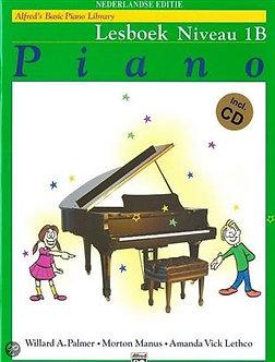 Alfred's Basic Piano Library Lesboek Niveau 1B