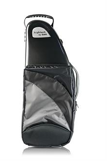 BAM Gig Bag Saxofoon Alto Hightech with Pocket Black Carbon Look 4101XLPC