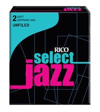 D'Addario Woodwinds Rieten Saxofoon Soprano SELECT JAZZ UNFILLED