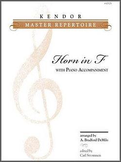 Kendor Master Repertoire - Horn in F