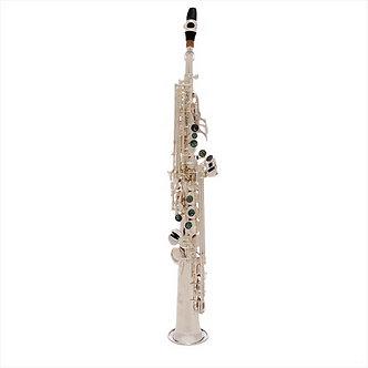 John Packer Sopraan Saxofoon JP043S - Uitvoering: Verzilverd