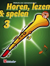 Horen Lezen & Spelen 3 sopraansaxofoon