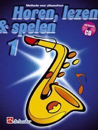 Horen Lezen & Spelen 1 altsaxofoon