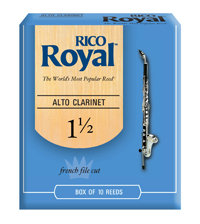 D'Addario Woodwinds Rieten Klarinet Alto ROYAL