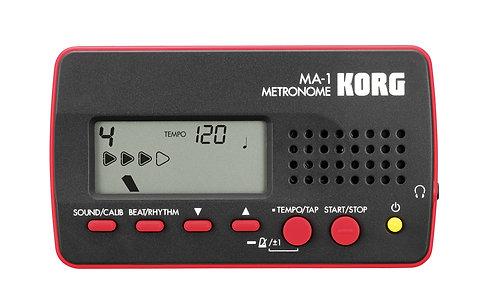 Korg Standard Metronoom MA-1 Red Cover