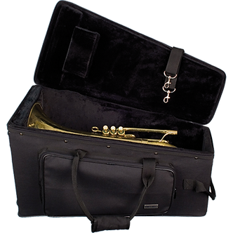 PB322 ProTec Slim PRO PAC Case Marching Bariton - Zwart